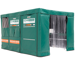 Echo Barrier Cutting Station Acoustic Enclosure