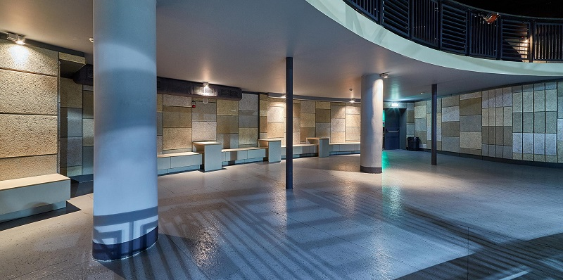 Cewood Acoustric Panels in a Health Spa