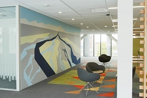 Blue Softsound Acoustic Wall Panel